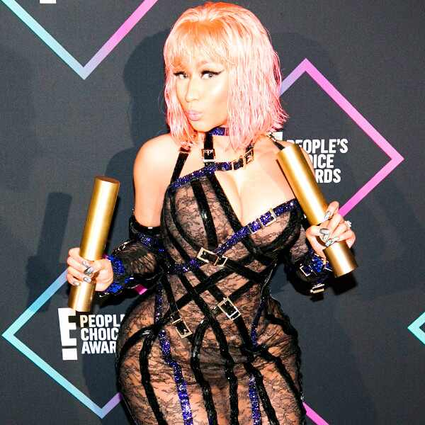Nicki Minaj, 2018 Peoples Choice Awards, Winners